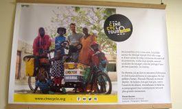 Le Cinécyclo Tour Sénégal s'expose à l'Espace Baudelaire à Dijon