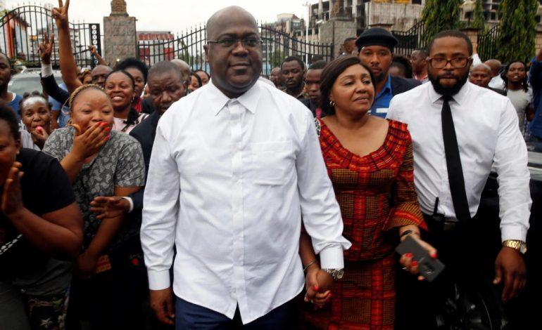 Félix Tshisekedi proclamé vainqueur en RD Congo, Martin Fayulu dénonce un «putsch»