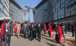 Macky Sall inaugure la deuxième sphère ministérielle de Diamniadio