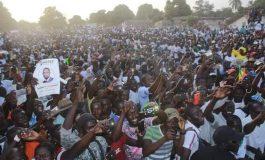 Mega meeting de Ousmane Sonko à Ziguinchor