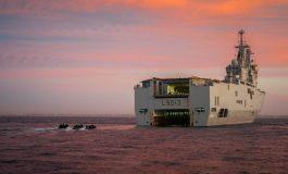 Escale du patrouilleur Corymbe à Dakar et patrouille maritime avec le Sénégal