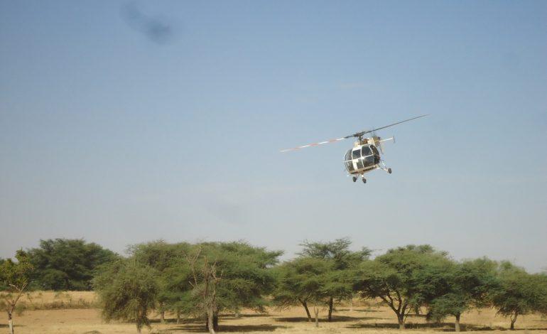 Formation de « tireur embarqué » des Eléments Français du Sénégal aux militaires Sénégalais à Thiès