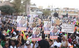 Macky Sall à Rufisque: La victoire au premier tour est inévitable. et personne, personne ne pourra l'empêcher