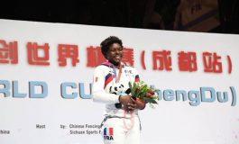 Coupe du monde d'escrime : «Je n'arrive toujours pas à y croire », confie Hélène Ngom