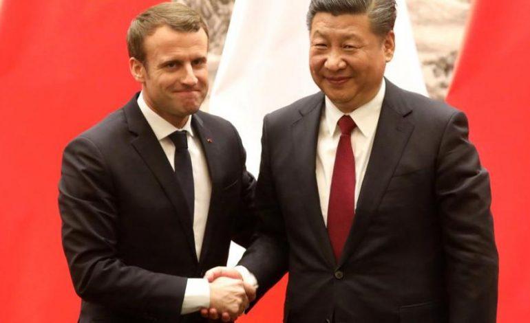 Le temps de la naïveté de l'UE envers la Chine est révolu déclare Emmanuel Macron