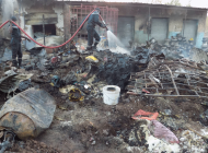 Un incendie cause d'importantes pertes matérielles au marché central de Tambacounda