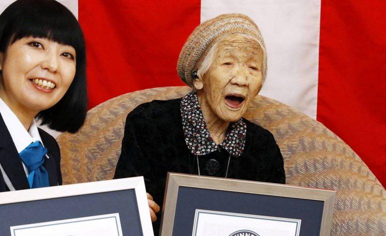 La Japonaise Tanaka Kane âgée de 116 ans, doyenne de l'humanité