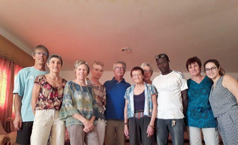 L'équipe de  l'association Teranga de retour du Sénégal