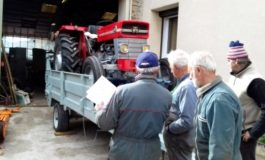 Les tracteurs de l'AVEM Sénégal Cuma quittent L'Hospitalet-du-Larzac direction Kaolack!