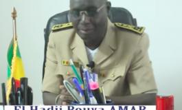 Des réponses durables s'imposent face à l'émigration clandestine selon le gouverneur El Hadji Bouya Amar