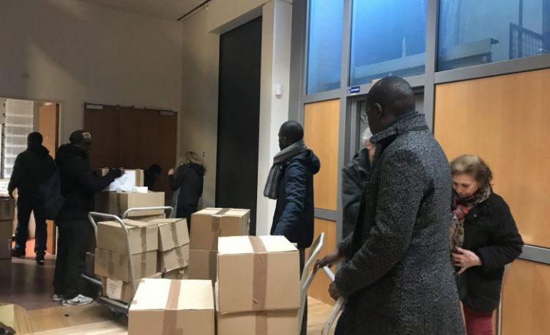 Le club Unesco Floconville de Toulouse envoie trois tonnes de fournitures scolaires à Khombole