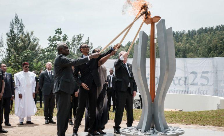 Le Rwanda rend hommage aux 800.000 Tutsis et Hutus modérés massacrés lors du génocide de 1994