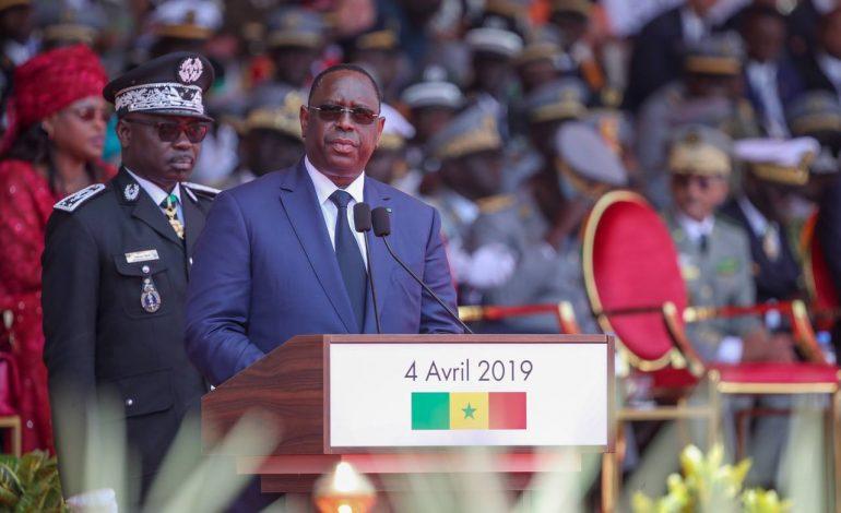Macky Sall déclare être rassuré par la cohérence du système de défense du Sénégal