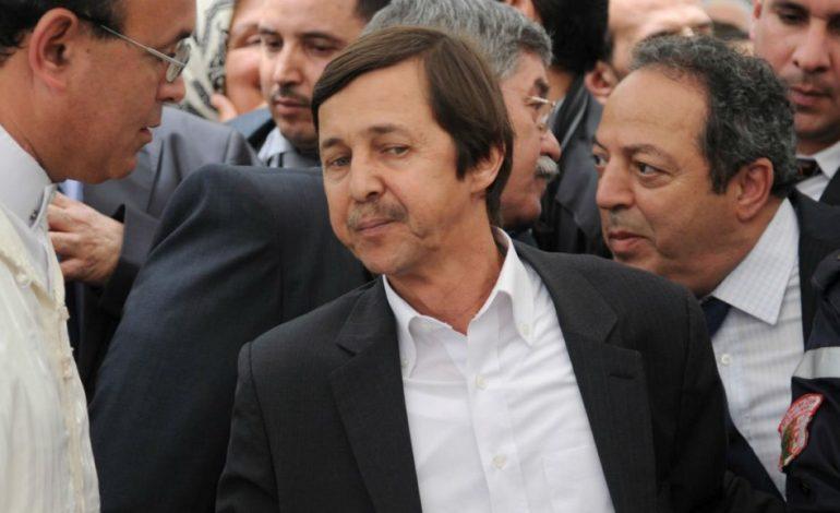 Saïd Bouteflika, frère de Abdelaziz Bouteflika arrêté ainsi que les Généraux Toufik et Bachir