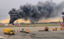 13 morts dans l'accident d'un Superjet-100 à Moscou-Cheremetievo