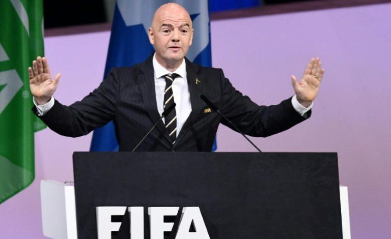 Gianni Infantino réélu à la tête de la FIFA pour un deuxième mandat