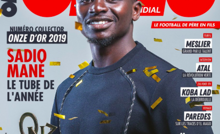 Le Onze d'Or 2019 décerné à Sadio Mané par les lecteurs d'Onze Mondial
