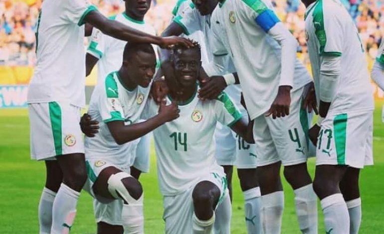Les U20 du Sénégal qualifiés en quarts de finale de la Coupe du Monde de football