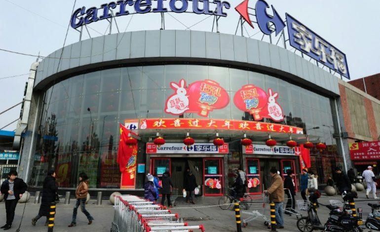 Carrefour cède le contrôle de ses activités en Chine à Suning.com pour 620 millions d'euros