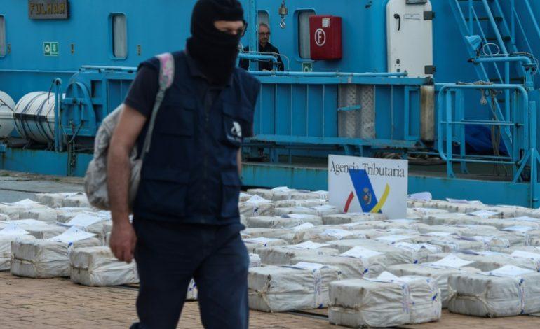 Saisies record de cocaïnes en Europe en 2017, dans un marché en voie d'»ubérisation»