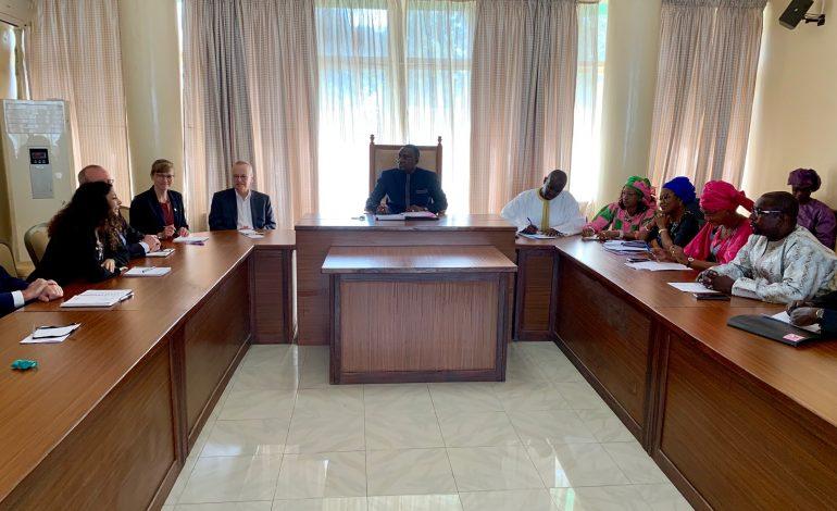 Une délégation de députés allemands au Sénégal