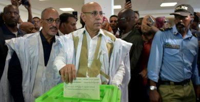 Mohamed Cheikh El-Ghazouani revendique la victoire à l'élection présidentielle en Mauritanie