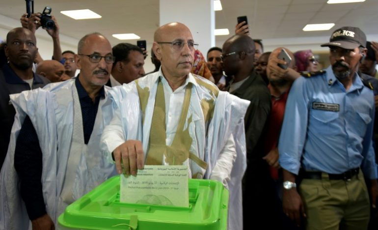 Le candidat du pouvoir proclamé vainqueur dès le premier tour en Mauritanie, l'opposition rejette les résultats