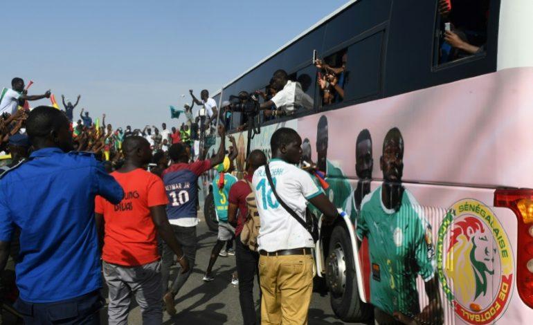 Une traversée de Dakar triomphale pour les Lions du Sénégal après la CAN