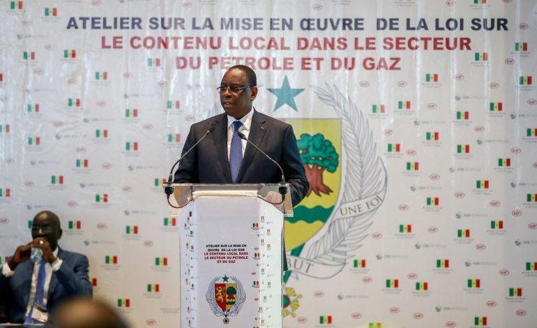Macky Sall veut éviter les «convulsions» nées de l'exploitation du pétrole et du gaz
