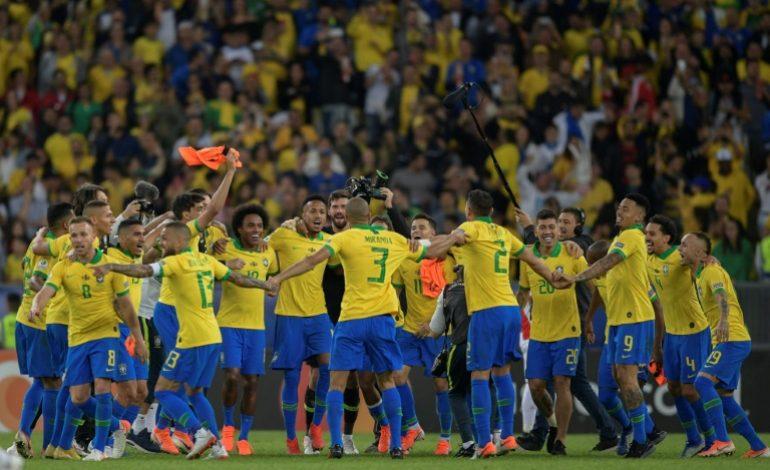 9e Copa America pour le Brésil face au Chili, 3-1