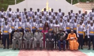 55 officiers de la 37e promotion de l'ENOA ont reçu leurs épaulettes
