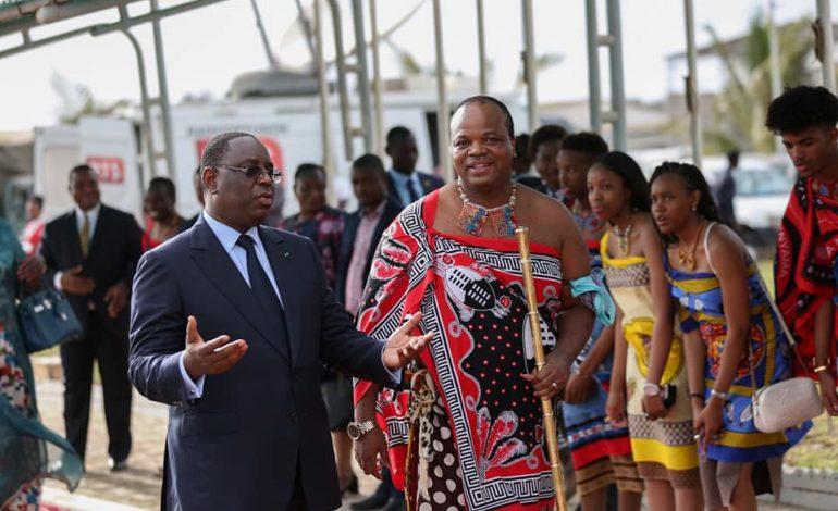 Le roi de l'Eswatini en visite officielle au Sénégal pour deux jours