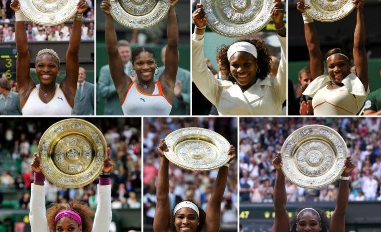 A 37 ans; Serena Williams à une marche de l'histoire à Wimbledon