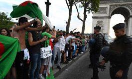 Près de 200 interpellations en France après la victoire de l'Algérie à la CAN2019