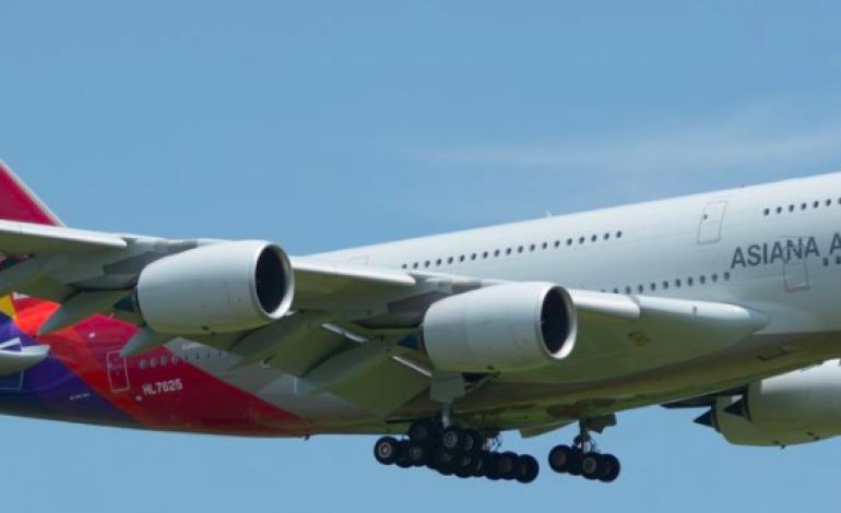 Un Airbus A380 d'Asiana prend feu à l'aéroport de Séoul