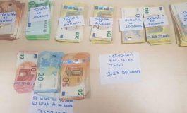 118 900 euros saisis sur Mamadou, un guinéen à la gare de Châtelet-Les Halles et 30.000 euros sur Johnson, un congolais