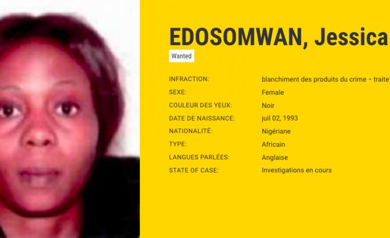 Qui est Jessica Edosomwan, la Nigériane la plus recherchée par Europol ?