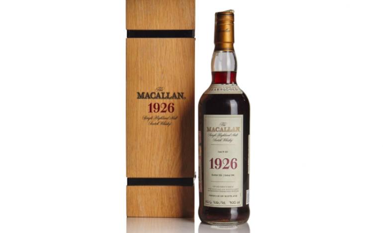 Une bouteille de whisky vendu aux enchères à 1,7 million d'euros