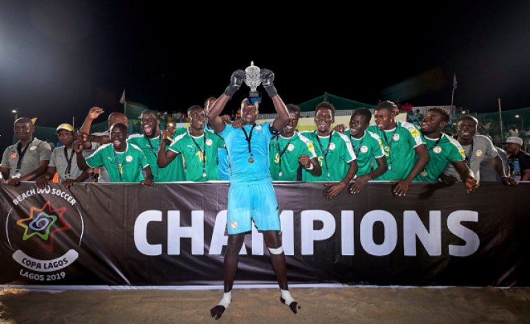 Le Sénégal remporte la Copa Lagos 2019 de Beach Soccer devant l'Angleterre