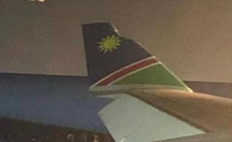 Collision mineure entre un avion d'Air Namibia et de Korean Air à l'aéroport de Francfort