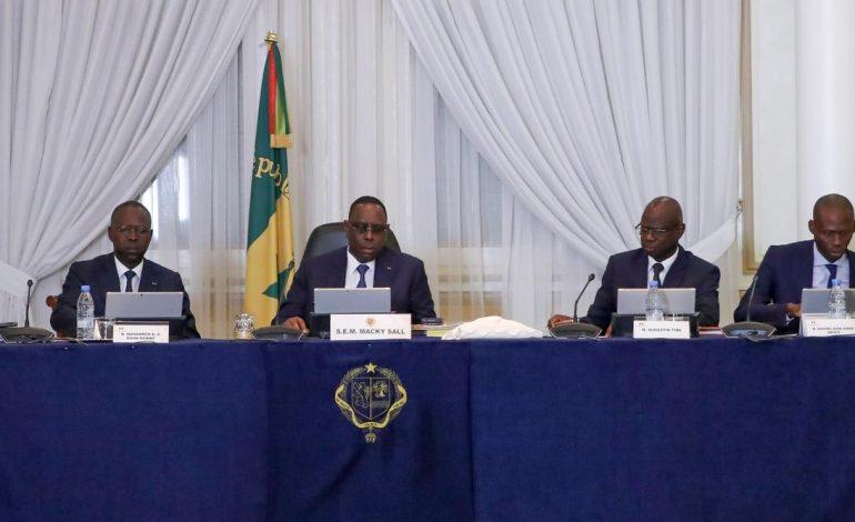 Communiqué du Conseil des Ministres du 05 août 2020