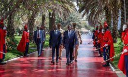 Levée de couleurs au palais présidentiel pour marquer le 60e anniversaire de l'indépendance du Sénégal