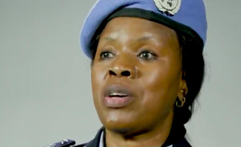 Seynabou Diouf, lauréate du prix de la policière des Nations Unies 2019