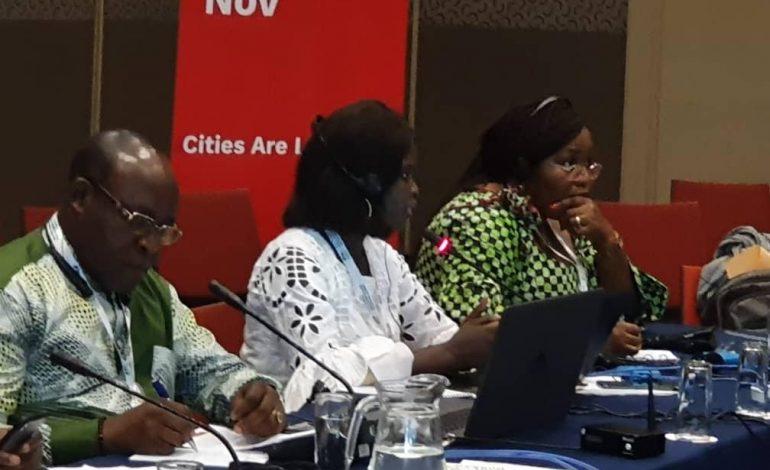 Thérèse Faye Diouf élue présidente du Réseaux des Jeunes Elus zone Afrique de l'Ouest.
