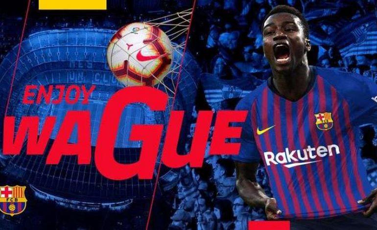 Moussa Wagué pourrait débuter avec le FC Barcelone