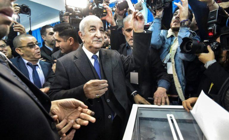Abdelmadjid Tebboune élu au premier tour à la tête de l'état algérien