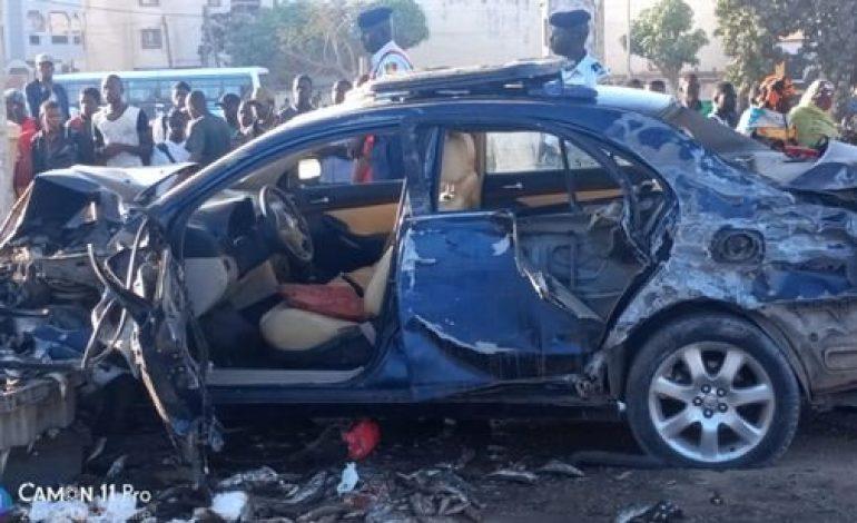 Trois morts et plusieurs blessés dans un accident de circulation à Dakar