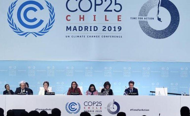 La COP25 s'achève sur un accord a minima sur le réchauffement climatique