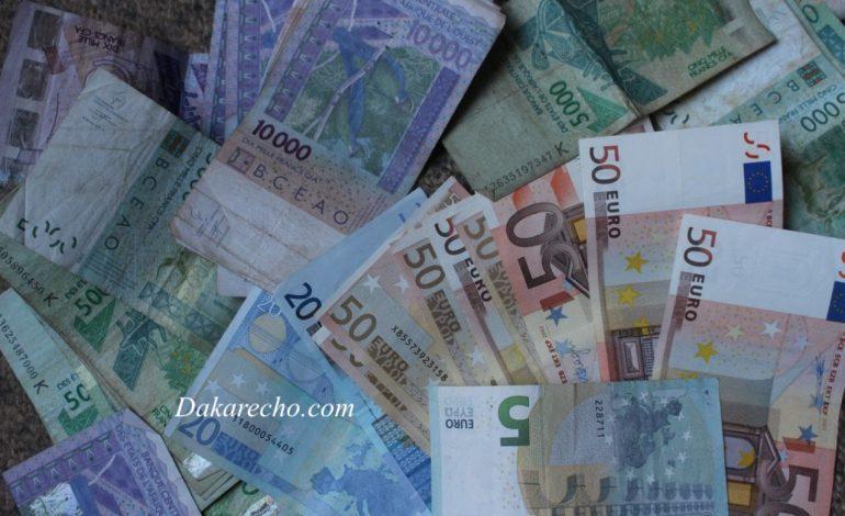 La gendarmerie sénégalaise saisie deux milliards d'euros en faux billets !