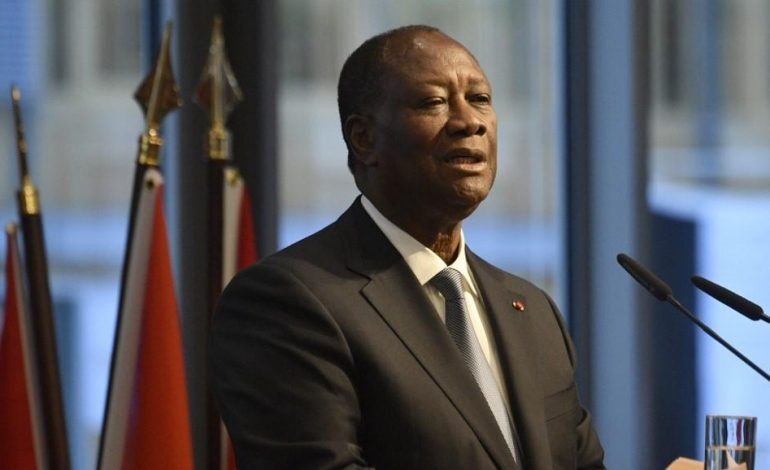 Il n'y aura pas de transition politique en Côte d'Ivoire déclare Alassane Ouattara
